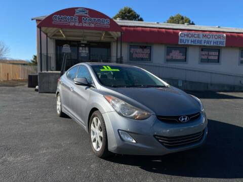 2011 Hyundai Elantra for sale at Choice Motors of Salt Lake City in West Valley  City UT