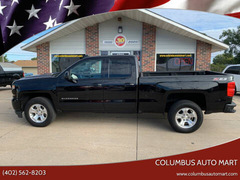 2017 Chevrolet Silverado 1500 for sale at Columbus Auto Mart in Columbus NE