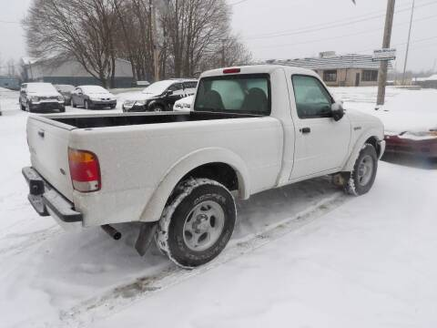 2002 Ford Ranger for sale at English Autos in Grove City PA