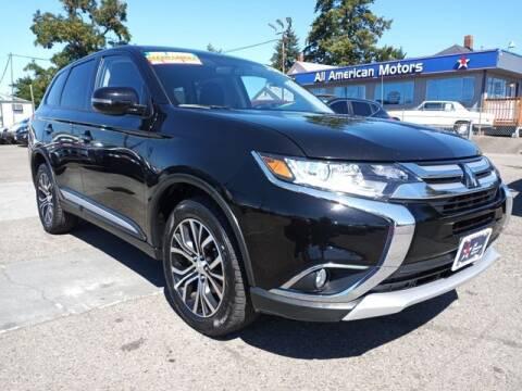 2018 Mitsubishi Outlander for sale at All American Motors in Tacoma WA