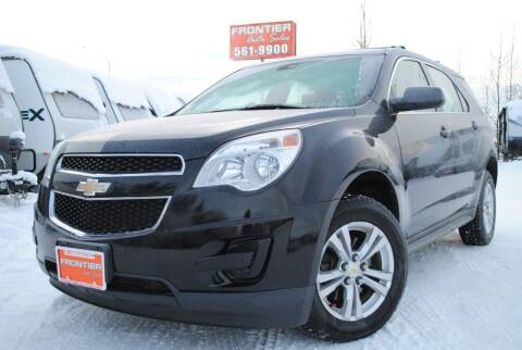 2011 Chevrolet Equinox for sale at Frontier Auto & RV Sales in Anchorage AK