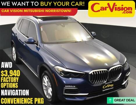 2019 BMW X5 for sale at Car Vision Mitsubishi Norristown in Norristown PA