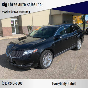 2014 Lincoln MKT for sale at Big Three Auto Sales Inc. in Detroit MI