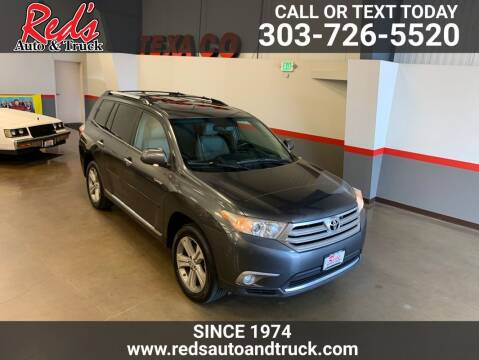 2012 Toyota Highlander for sale at Red's Auto and Truck in Longmont CO