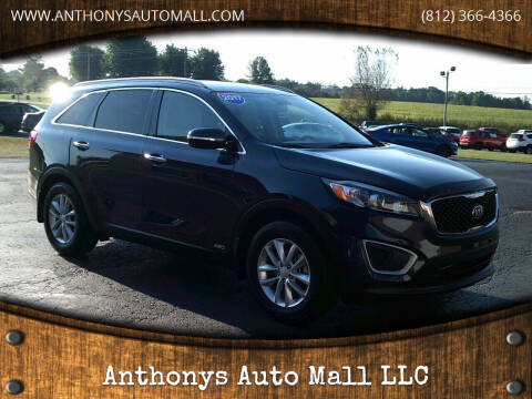 2017 Kia Sorento for sale at Anthonys Auto Mall LLC in New Salisbury IN