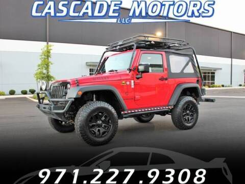 2014 Jeep Wrangler for sale at Cascade Motors in Portland OR