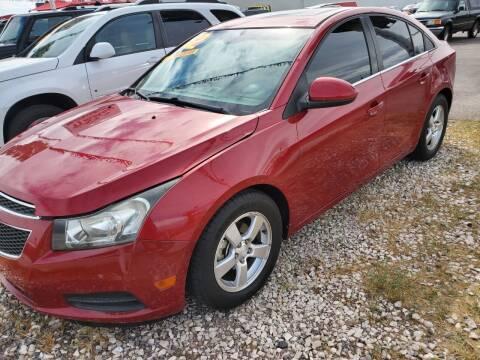 2012 Chevrolet Cruze for sale at TJ Motors in Las Vegas NV