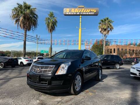 2011 Cadillac SRX for sale at A MOTORS SALES AND FINANCE in San Antonio TX