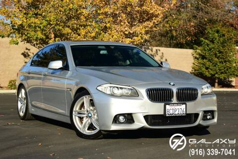 2011 BMW 5 Series for sale at Galaxy Autosport in Sacramento CA