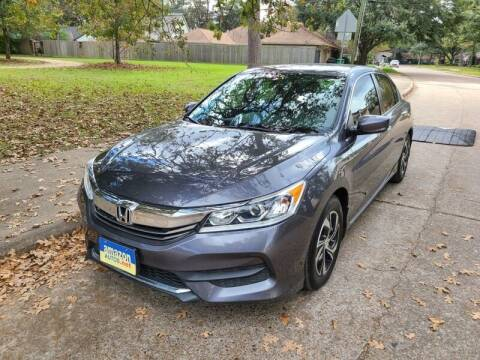 2017 Honda Accord for sale at Amazon Autos in Houston TX