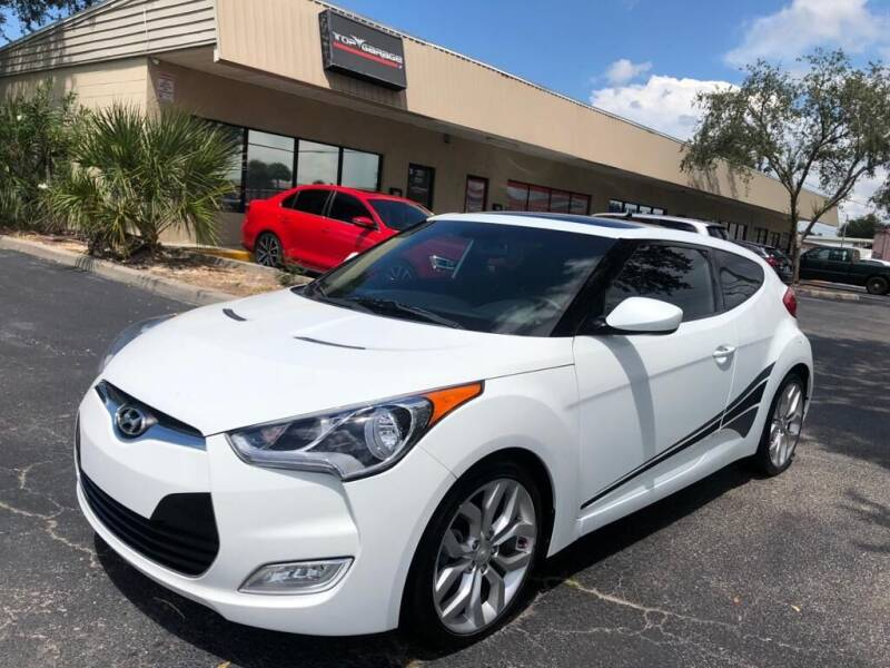 2013 Hyundai Veloster for sale at Top Garage Commercial LLC in Ocoee FL