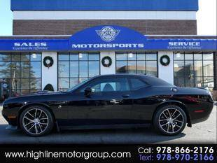 2016 Dodge Challenger for sale at Highline Group Motorsports in Lowell MA