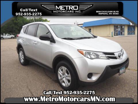 2015 Toyota RAV4 for sale at Metro Motorcars Inc in Hopkins MN