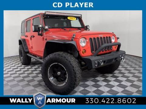 2013 Jeep Wrangler Unlimited for sale at Wally Armour Chrysler Dodge Jeep Ram in Alliance OH