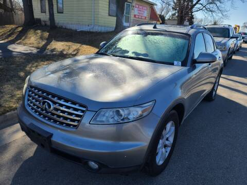 2005 Infiniti FX35 for sale at Steve's Auto Sales in Madison WI