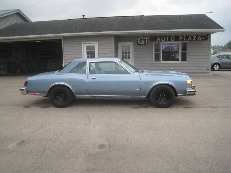 1978 Chrysler Le Baron for sale at G T AUTO PLAZA Inc in Pearl City IL