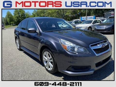 2013 Subaru Legacy for sale at G Motors in Monroe NJ