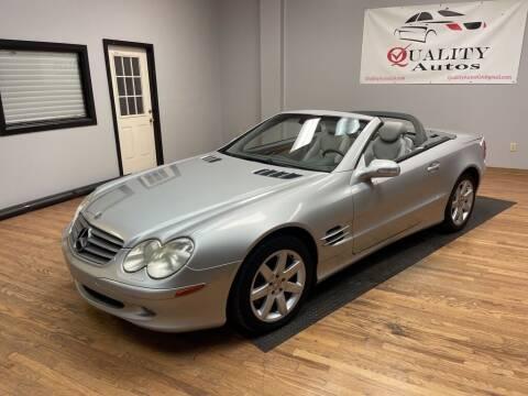 2003 Mercedes-Benz SL-Class for sale at Quality Autos in Marietta GA