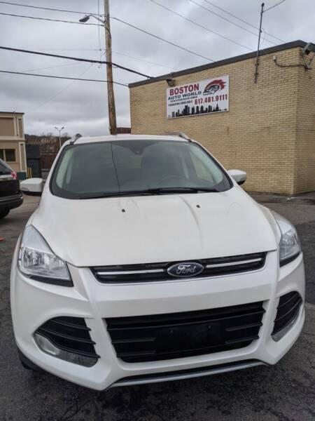 2016 Ford Escape for sale at Boston Auto World in Quincy MA
