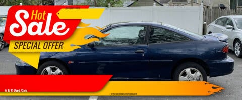 2001 Chevrolet Cavalier for sale at A & R Used Cars in Clayton NJ