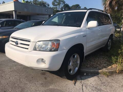 2006 Toyota Highlander for sale at Popular Imports Auto Sales in Gainesville FL