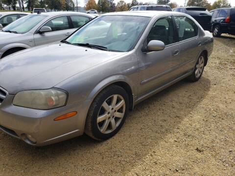 2003 Nissan Maxima for sale at Northwoods Auto & Truck Sales in Machesney Park IL