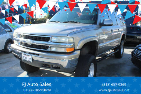 2000 Chevrolet Suburban for sale at Good Vibes Auto Sales in North Hollywood CA