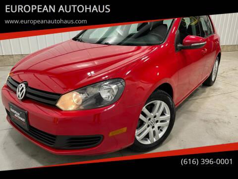 2011 Volkswagen Golf for sale at EUROPEAN AUTOHAUS in Holland MI