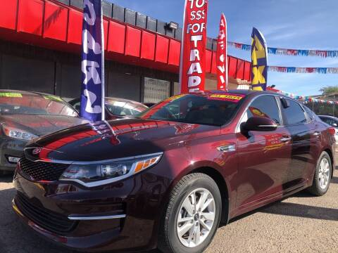 2018 Kia Optima for sale at Duke City Auto LLC in Gallup NM