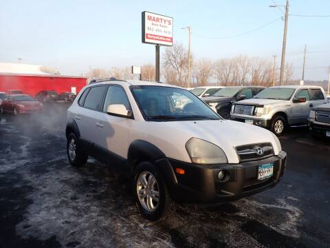 2006 Hyundai Tucson for sale at Marty's Auto Sales in Savage MN
