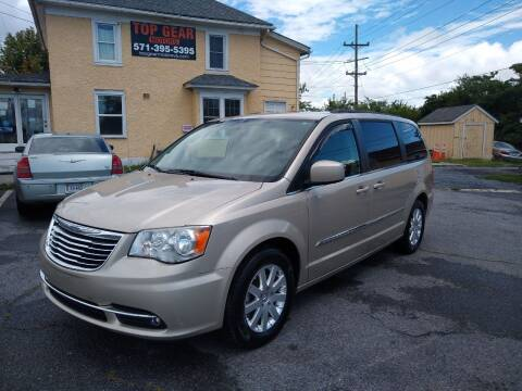2015 Chrysler Town and Country for sale at Top Gear Motors in Winchester VA