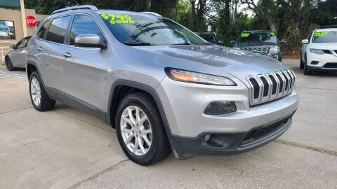 2016 Jeep Cherokee for sale at Dunn-Rite Auto Group in Longwood FL
