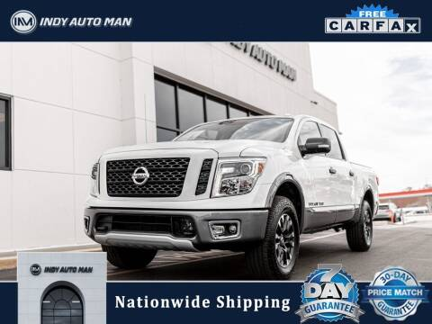 2018 Nissan Titan for sale at INDY AUTO MAN in Indianapolis IN