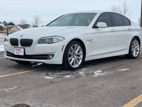 2012 BMW 5 Series for sale at More 4 Less Auto in Sioux Falls SD