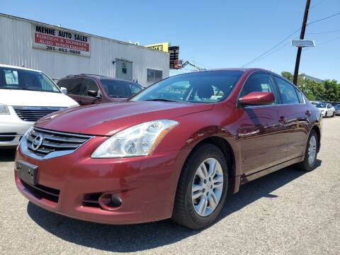 2012 Nissan Altima for sale at MENNE AUTO SALES LLC in Hasbrouck Heights NJ