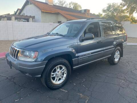 2002 Jeep Grand Cherokee for sale at EV Auto Sales LLC in Sun City AZ