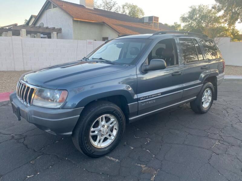 2002 Jeep Grand Cherokee for sale at EV Auto Sales LLC in Sun City AZ