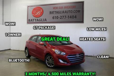 2016 Hyundai Elantra GT for sale at Battaglia Auto Sales in Plymouth Meeting PA