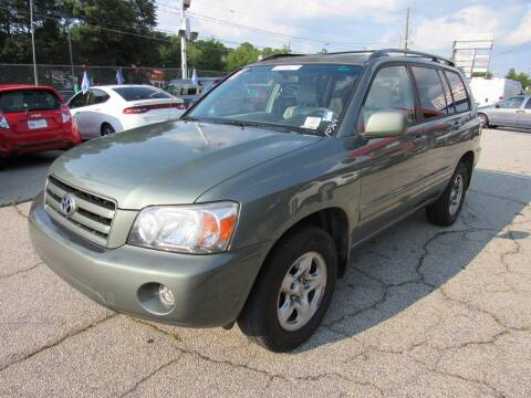 2007 Toyota Highlander for sale at King of Auto in Stone Mountain GA