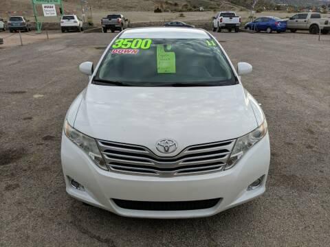 2011 Toyota Venza for sale at Hilltop Motors in Globe AZ