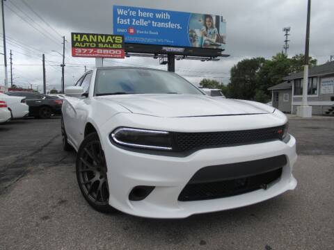 2015 Dodge Charger for sale at Hanna's Auto Sales in Indianapolis IN