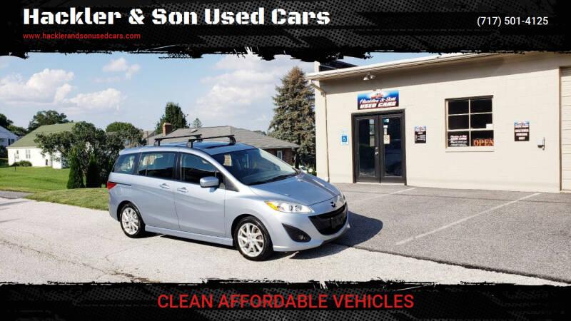 2012 Mazda MAZDA5 for sale at Hackler & Son Used Cars in Red Lion PA