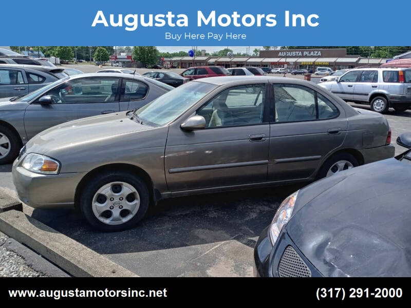2004 Nissan Sentra for sale at Augusta Motors Inc in Indianapolis IN