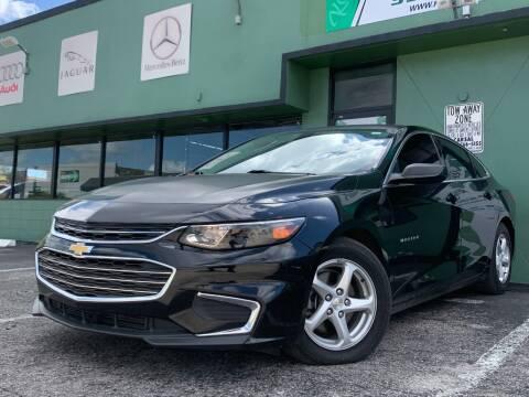 2016 Chevrolet Malibu for sale at KARZILLA MOTORS in Oakland Park FL
