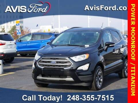 2018 Ford EcoSport for sale at Work With Me Dave in Southfield MI