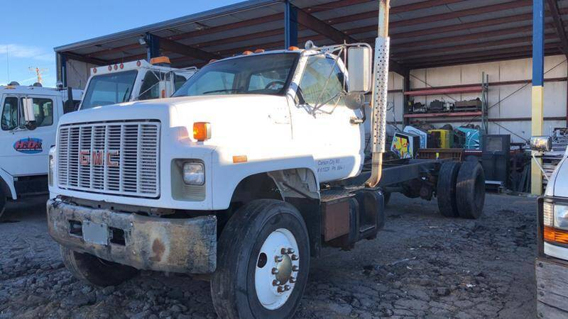 1991 GMC TOPKICK C7 for sale at Brand X Inc. in Mound House NV