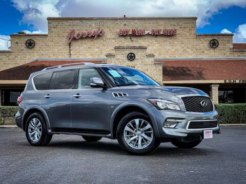 2016 Infiniti QX80 for sale at Jerrys Auto Sales in San Benito TX
