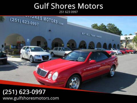 1999 Mercedes-Benz CLK for sale at Gulf Shores Motors in Gulf Shores AL