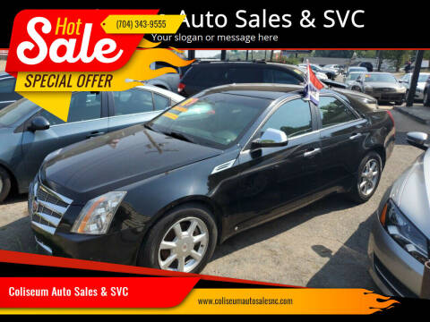 2009 Cadillac CTS for sale at Coliseum Auto Sales & SVC in Charlotte NC