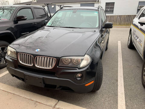 2007 BMW X3 for sale at SODA MOTORS AUTO SALES LLC in Newport RI